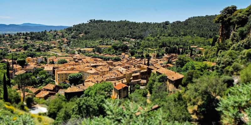 Cotignac, un village de Provence
