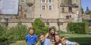 Le Château des ducs de Bourbon à Moulins