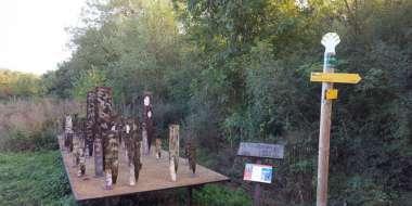Le GR 300 et ses sculptures