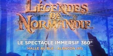 affiche légendes de Normandie