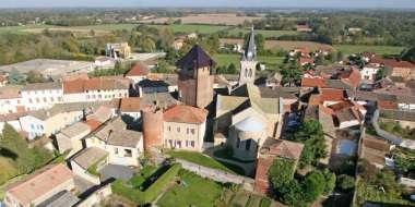 Château médiéval d'Ambérieux-en-Dombes