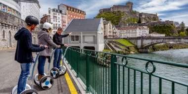 Visite de Lourdes en gyropode