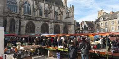 Marché place de la Magdeleine