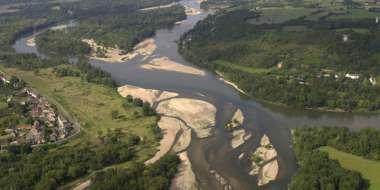 Le Bec d'Allier - la confluence entre Loire et Allier