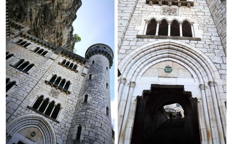 la Porte Sainte, l'entrée du Sanctuaire