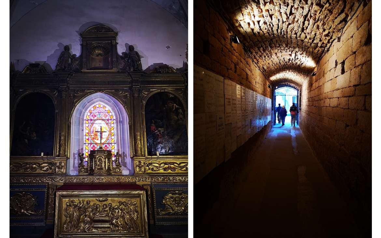 """Les chapelles et le """"tunnel"""""""