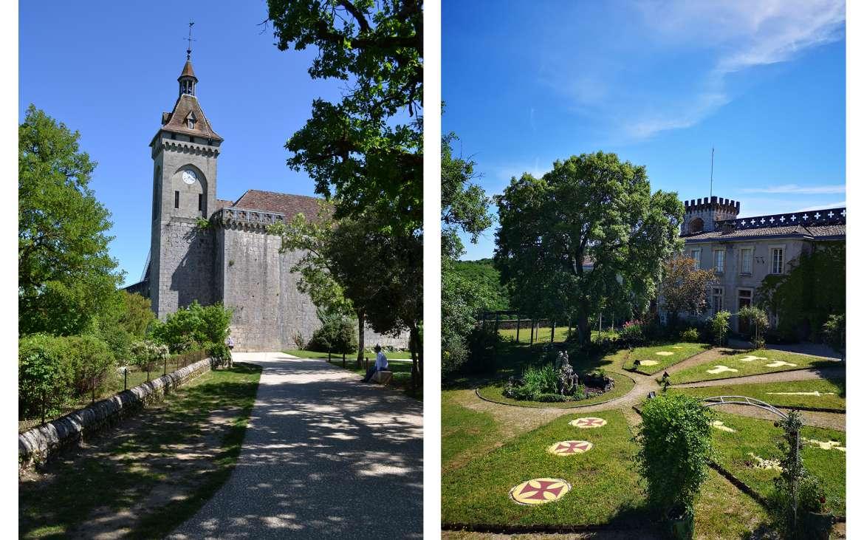 Le château de Rocamadour, demeure des chapelains