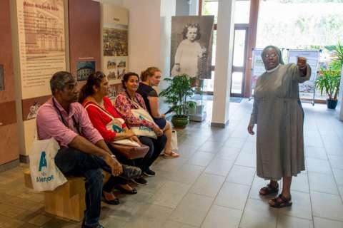 Accueil d'une délégation indienne à Alençon
