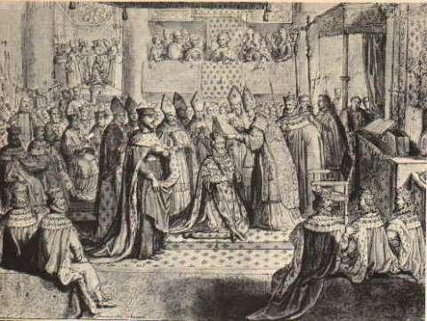 Sacre de Henri IV