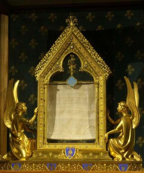Le voile de la Vierge