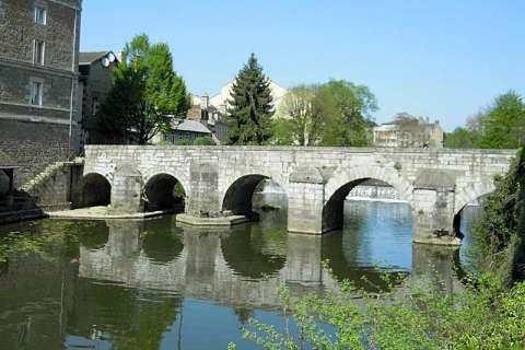 Pont de la rencontre entre Louis et Zélie martin