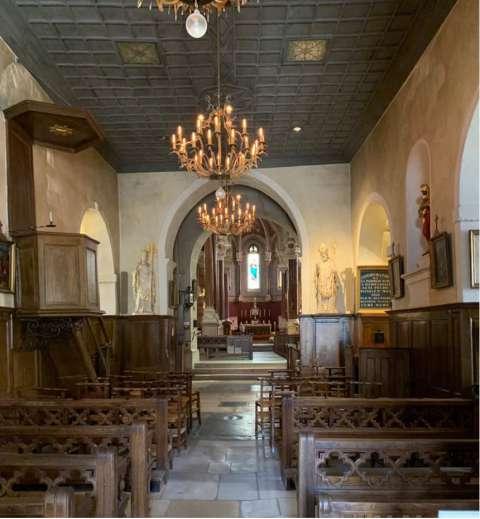 Nef de l'ancienne église