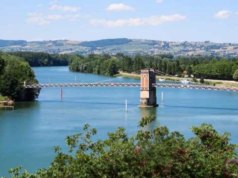 La Saône à Trévoux