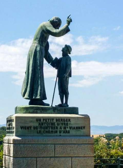 Le saint Curé et le petit berger