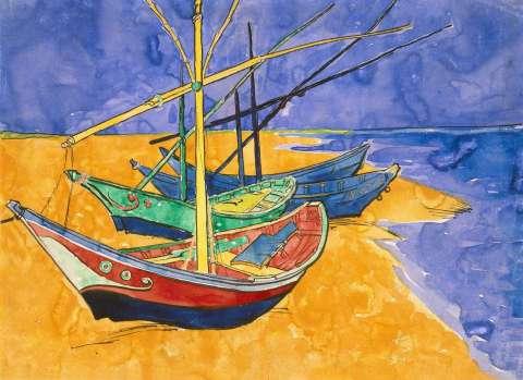 Les barques par Van Gohg