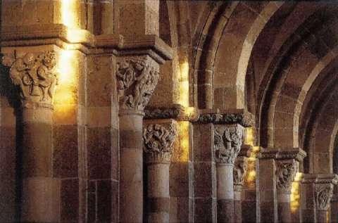 Chapiteaux de la Basilique de Vézelay