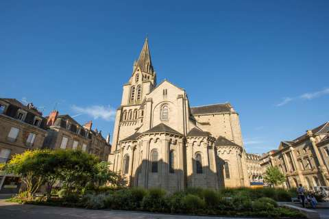 Collegiate church in Brive
