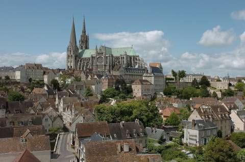 Le style gothique à Chartres