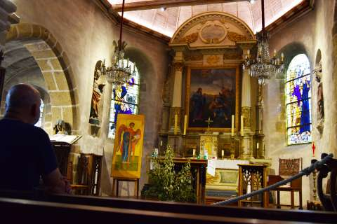 L'église paroissiale par l'OTMSMN