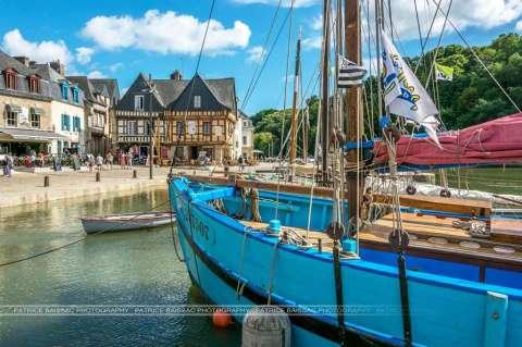 Bateau de pêche - port de St-Goustan