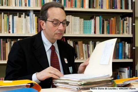Dr Alessandro de Franciscis à Lourdes