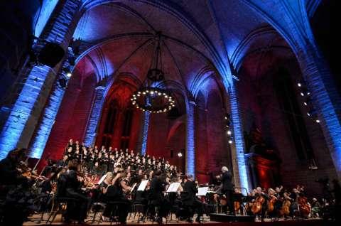 Chants sacrés dans la cathédrale