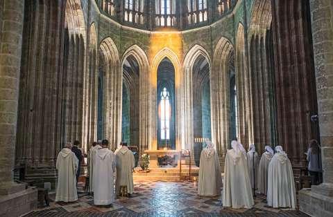 Les Fraternités Monastiques de Jérusalem dans l'abbaye