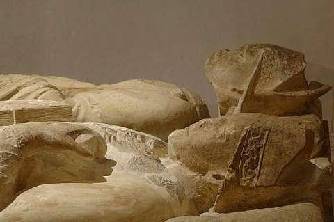 Gisants de saint Mayeul et saint Odilon