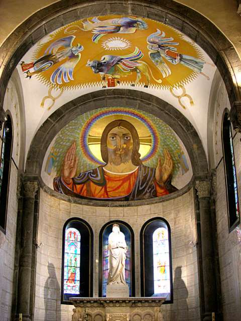 Jésus par Arcabas - Notre-Dame de la Salette