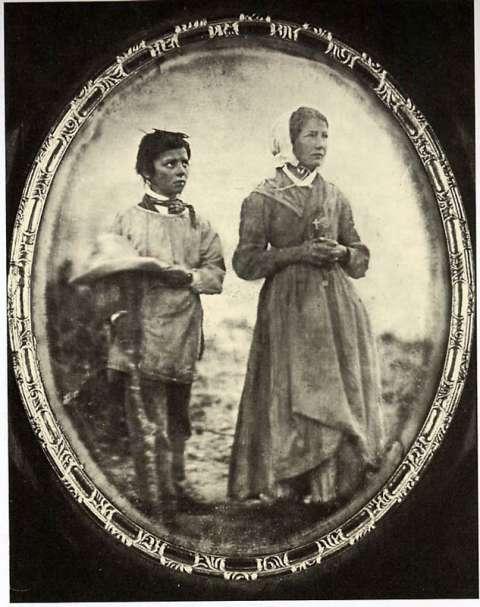 Maximin et Mélanie - les voyants de La Salette