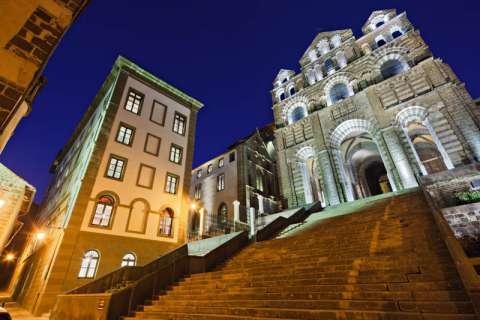 la Cathédrale et l'Hôtel Dieu