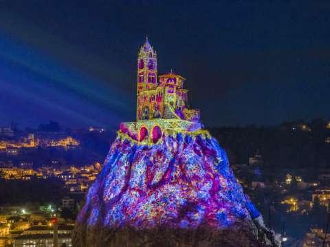 Puy de Lumières light show