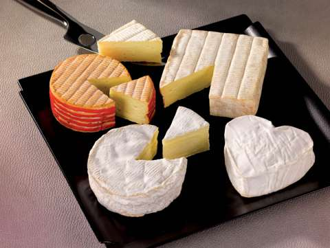 Plateau de fromage de Normandie