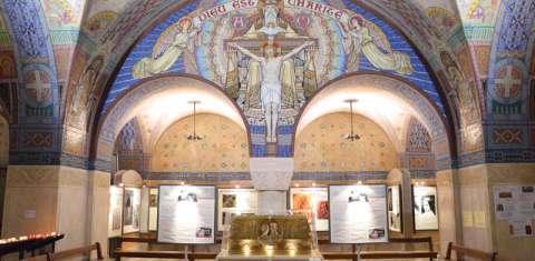 Crypte du sanctuaire de Lisieux