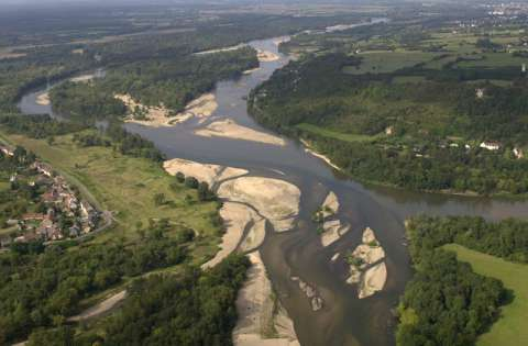 Nevers à proximité du Bec d'Allier