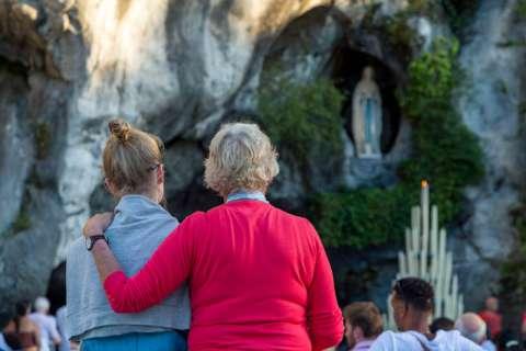 Grotte de Massabielle à Lourdes