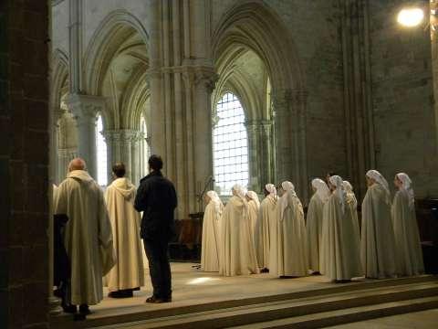 Le chœur gothique de Vézelay