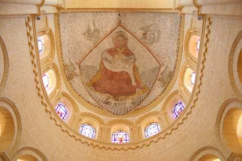 Chist en Majesté dans la basilique