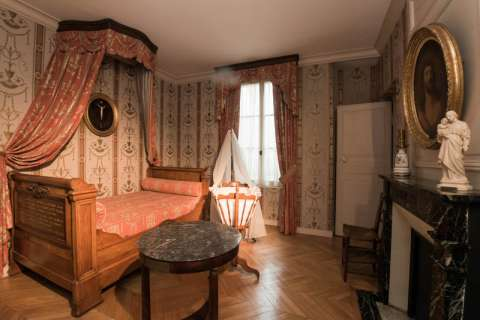 Chambre à coucher de Louis et Zélie