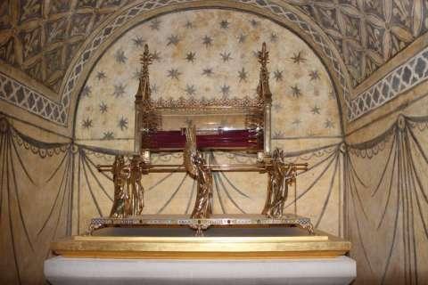 reliques de Marie-Madeleine à Vézelay