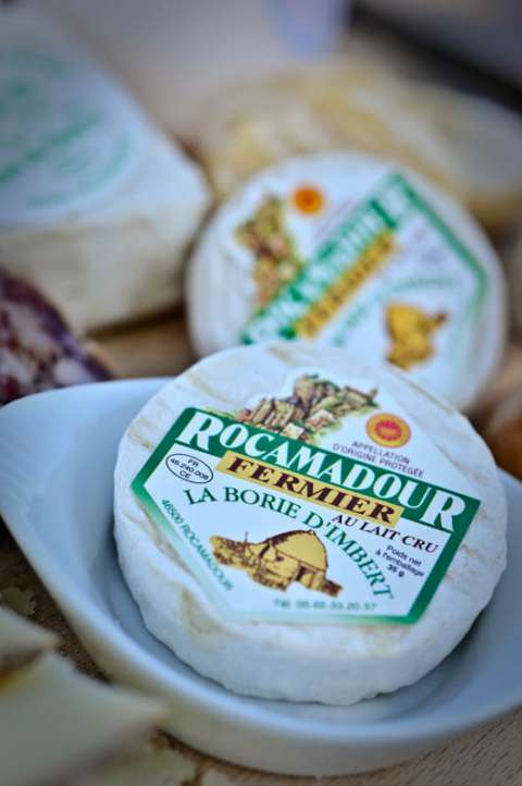 Petit rond au lait de chèvre -  Rocamadour