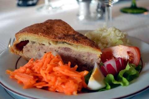 La tourte à la viande  - Thierenbach