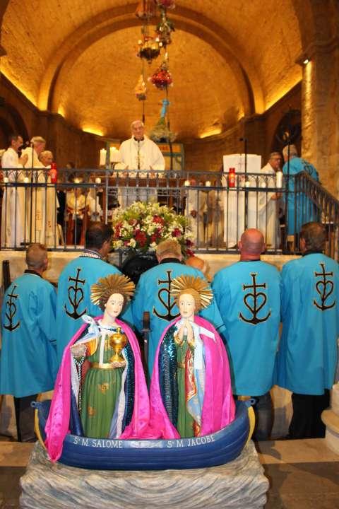 La barque des Saintes