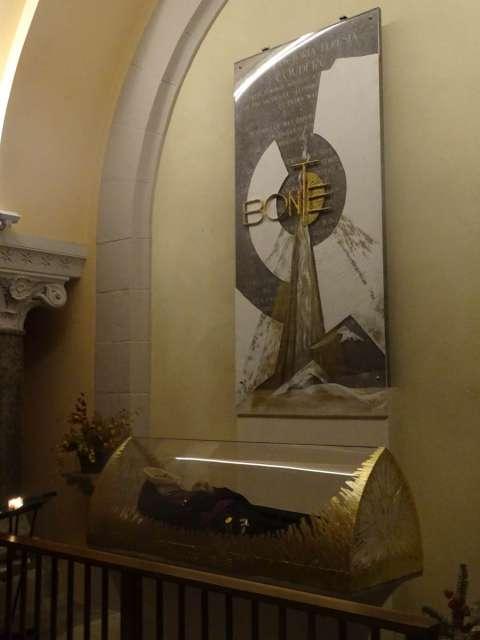 Reliques de sainte Thérèse Couderc