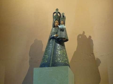 Vierge à l'enfant de Félix Oudin