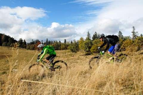 Mountain biking around Thierenbach