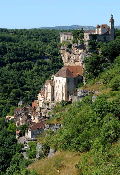 View over Rocamadour