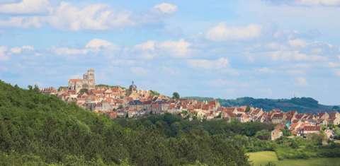Basilique de Vézelay sur le mont Scorpion